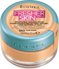 Крем-пудра Rimmel London Fresher Skin SPF15 25 мл