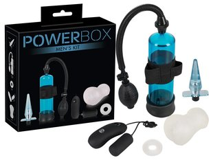Sekslelude komplekt Powerbox Men Set, 4 tk
