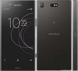 Mobiiltelefon Sony Xperia XZ1 Compact, Must