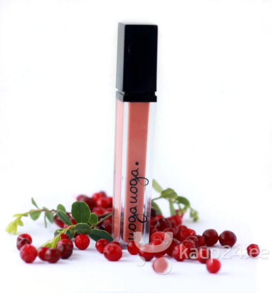 Блеск для губ с экстрактом брусники Uoga Uoga 7 ml цена и информация | Huulepulgad, palsamid, huuleläiked | kaup24.ee