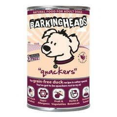 Konserv koertele Barking Heads Tiny Paws Quackers, 400 g