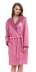 Naiste hommikumantel DN Nightwear SSB.9384, roosa