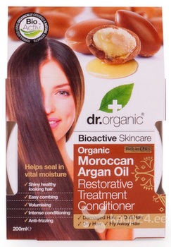 Šampoon Dr Organic Moroccan Argan Oil 200 ml