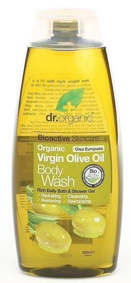 Naturaalne dušigeel Dr. Organic Virgin Olive Oil 250 ml цена и информация | Dušigeelid, seebid | kaup24.ee