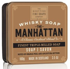 Seep karbis The Scottish Fine Soaps Whisky Manhattan 100 g