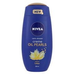 Dušigeel Nivea Creme Oil Pearls Lotus 250 ml