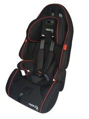 Laste autoiste Smiki Frenzy 9-36 kg, must hind ja info | Turvatoolid | kaup24.ee