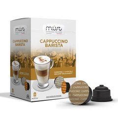 Kohvikapslid Must Cappuccino Barista – 16 Dolce Gusto® aparaadile