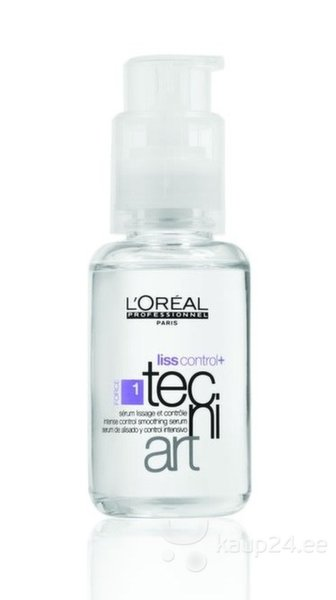Juukseseerum L'Oreal Professionnel Paris Tecni Art Liss Control+ 50 ml цена и информация | Maskid, õlid, seerumid | kaup24.ee