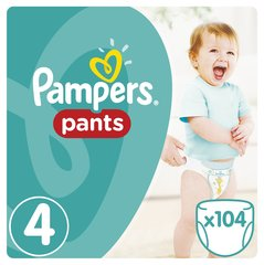 Püksmähkmed Pampers Pants Mega Box 8-14 kg, 104tk