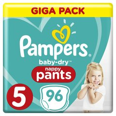 Püksmähkmed Pampers Pants Mega Box 11-18 kg, 96tk hind ja info | Mähkmed | kaup24.ee