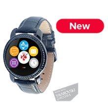 Nutikell MyKronoz Smartwatch Zecircle 2PS, Must