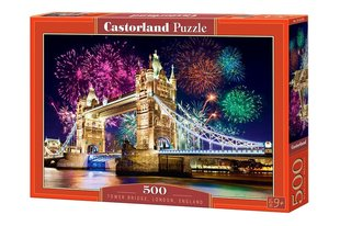 Pusle Puzzle Castorland Tower Bridge, England, 500 tk