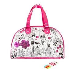 Loominguline komplekt Värvi omale käekott Fashion Me Smiki II hind ja info | Arendavad mänguasjad 3+ | kaup24.ee