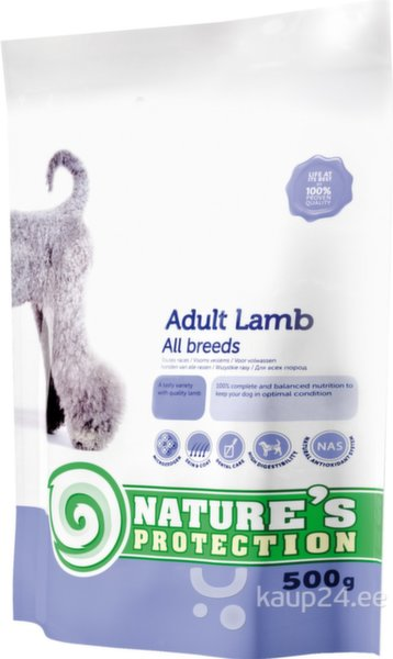 Nature's Protection Dog Adult Lamb, 0,5 kg
