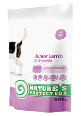 Nature's Protection Dog Junior Lamb, 0,5 kg hind ja info | Nature's Protection Dog Junior Lamb, 0,5 kg | kaup24.ee