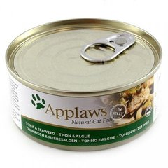 Applaws Cat Tuna Fillet with Seaweed, 156 g