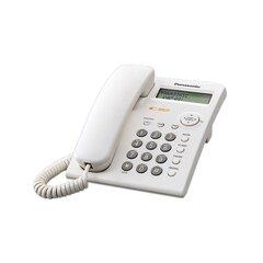 Lauatelefon Panasonic KX-TSC 11, Valge hind ja info | Lauatelefon Panasonic KX-TSC 11, Valge | kaup24.ee