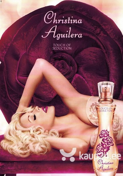 Ihupiim Christina Aguilera Touch of Seduction naistele 150 ml