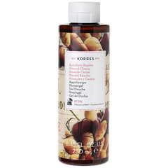 Dušigeel Korres Almond Cherry 250 ml