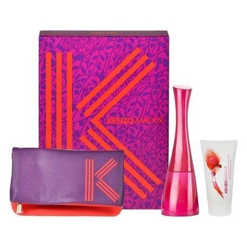 Komplekt Kenzo Amour: EDP naistele 100 ml + ihupiims 50 ml + kosmeetikakott hind ja info | Naiste lõhnad | kaup24.ee