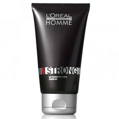 Tugevalt fikseeriv juuksegeel meestele L'Oreal Paris Professionnel Homme Strong Fix 150 ml