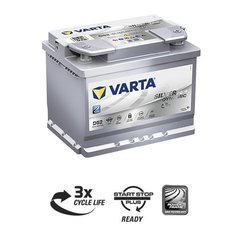 Aku Varta D52 60Ah 680A Start-Stop Plus AGM