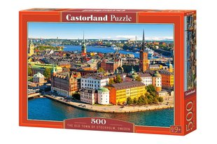 Пазл Puzzle Castorland The Old Town of Stockholm, Sweden, 500 дет.