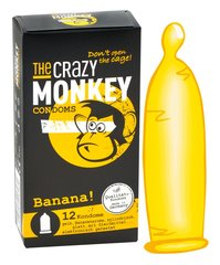 Kondoomid Crazy Monkey, 12 tk