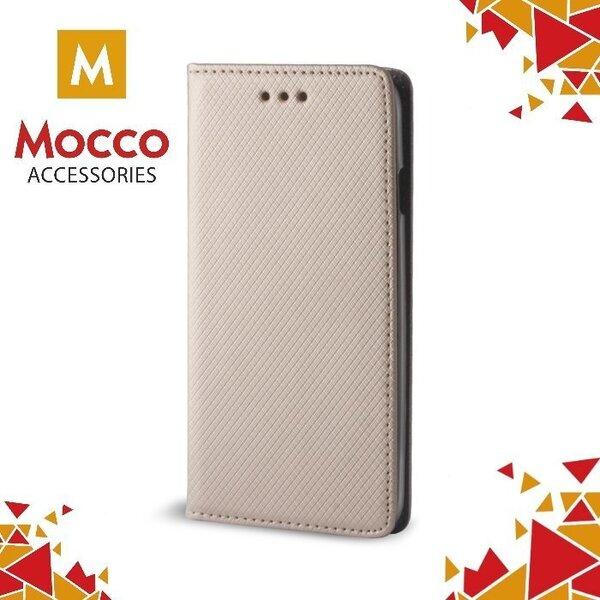 Telefoni ümbrisMocco Smart Magnet Book Case, sobib LG M200N K8 (2017) telefonile, kuldne