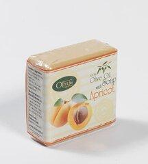 Looduslik niisutav seep koos aprikoosiekstraktiga Olivos 125 g hind ja info | Seebid | kaup24.ee