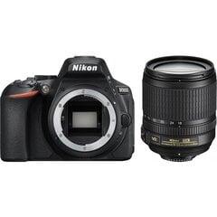 Peegelkaamera Nikon D5600 + 18-105mm AF-S VR Kit, must hind ja info | Fotoaparaadid | kaup24.ee
