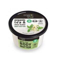 Kehavõi valge teega Organic Shop Tea & Shea 250 ml