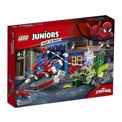 10754 LEGO® Juniors Человека-паука и Скорпиона столкновение на улице