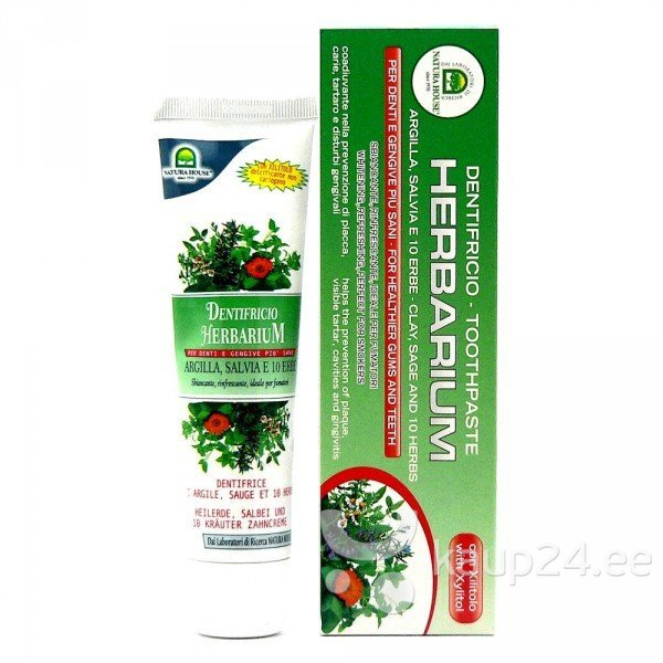 Hambapasta herbaarium Natura House 100 ml