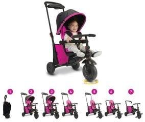 Kolmerattaline jalgratas SmartTrike 500 7 in 1, roosa