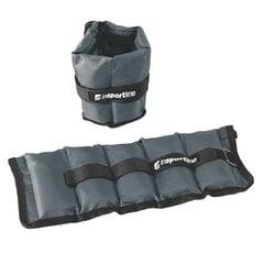 Регулируемые веса для рук и ног inSPORTline GrayWeight, 2x1 кг