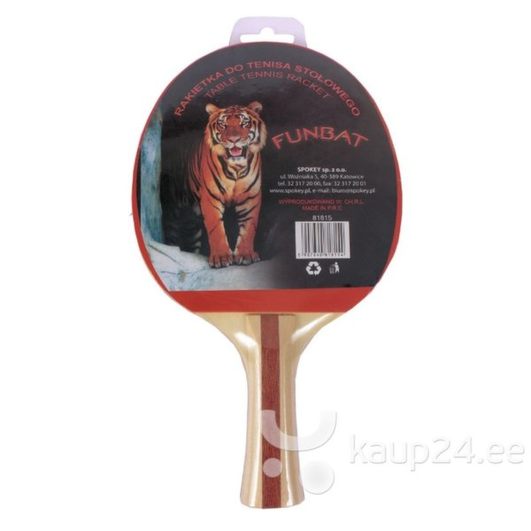 Ракетка для настольного тенниса Spokey FUNBA цена и информация | Lauatennise lauad, reketid, pallid | kaup24.ee