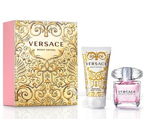 Комплект Versace Bright Crystal: EDT для женщин 30 мл + крем для тела 50 мл цена и информация | Naiste lõhnad | kaup24.ee