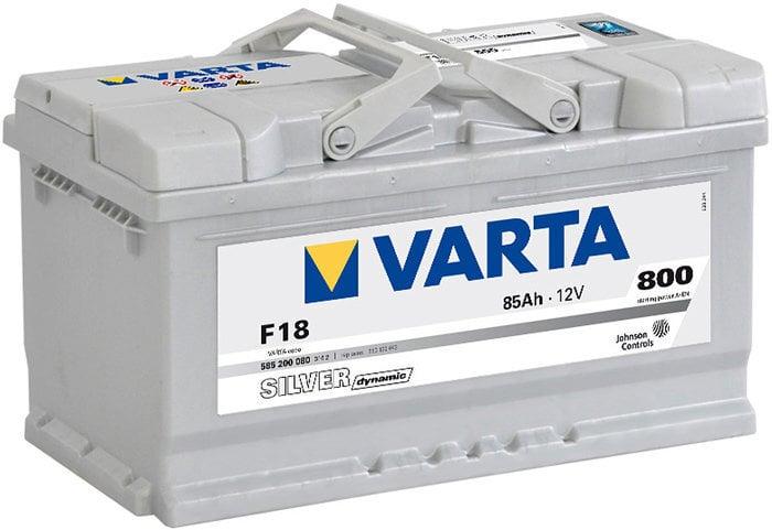 Аккумулятор VARTA SILVER 85AH 800A F18 цена и информация | Akud | kaup24.ee