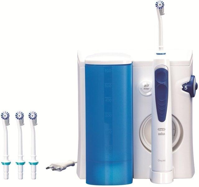 Электрическая зубная щетка Braun OxyJet MD20 цена и информация | Elektrilised hambaharjad | kaup24.ee