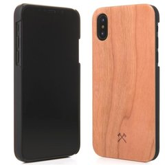 Kaitseümbris Woodcessories Cherry eco201 sobib Apple iPhone X