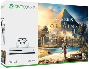 Mängukonsool Microsoft Xbox ONE S 500GB + Assasin's Creed: Origins