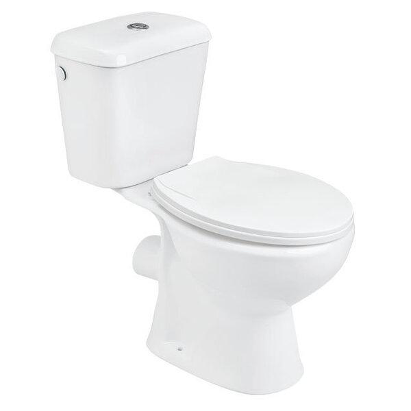 WC-pott Omega koos kaanega