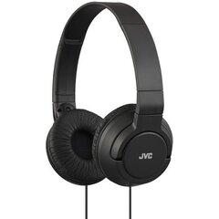 Juhtmega kõrvaklapid JVC HA-S180B, must