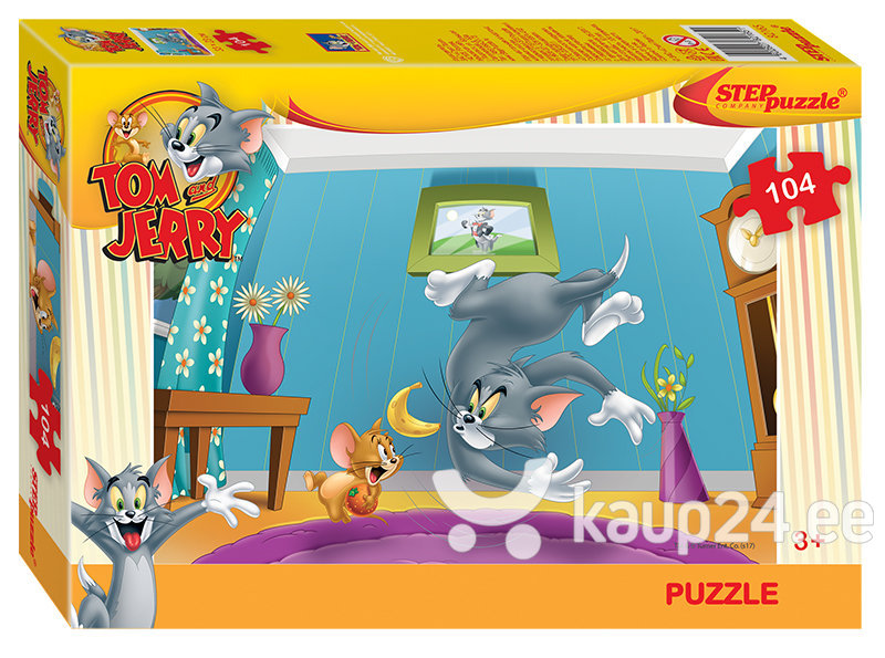 Pusle Step Puzzle 104 Tom ja Jerry
