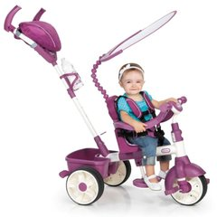 Трехколесный велосипед 4 in 1 Little Tikes, розовый