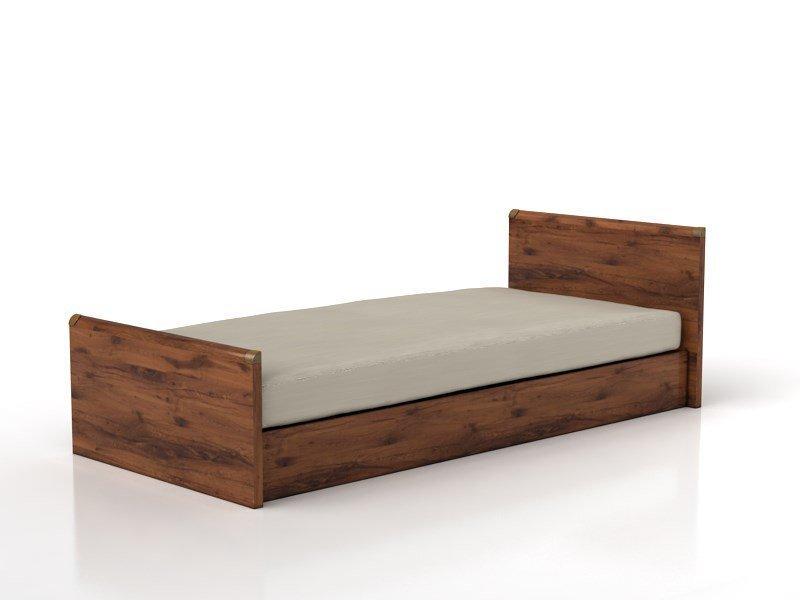 Üheinimese voodi Indiana JLOZ90, pruun