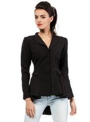 Naiste jakk MOE M165, must hind ja info | Naiste jakk MOE M165, must | kaup24.ee