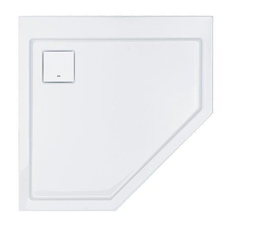 Dušialus Sanplast Space Line BPK/Space 90x90x3, libisemiskindla pinnaga, valge
